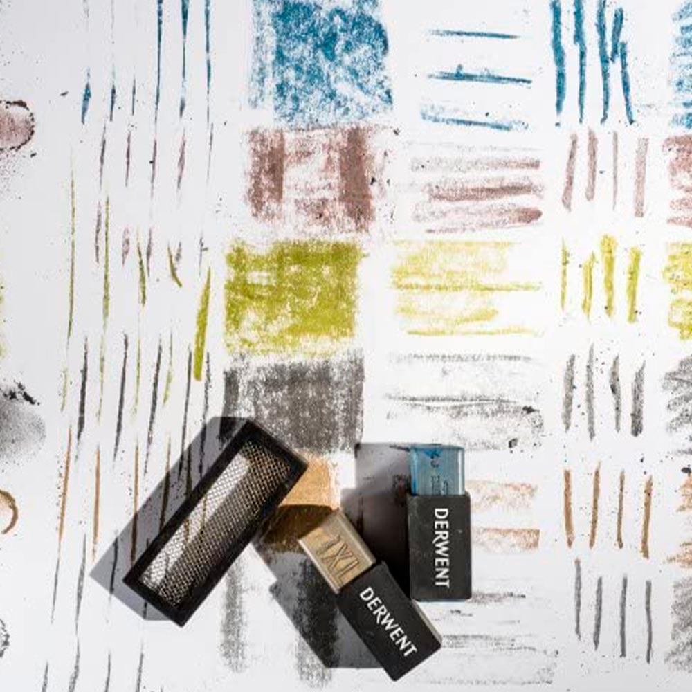 Derwent XL Graphite - Set 6 Barras de Grafito Colores