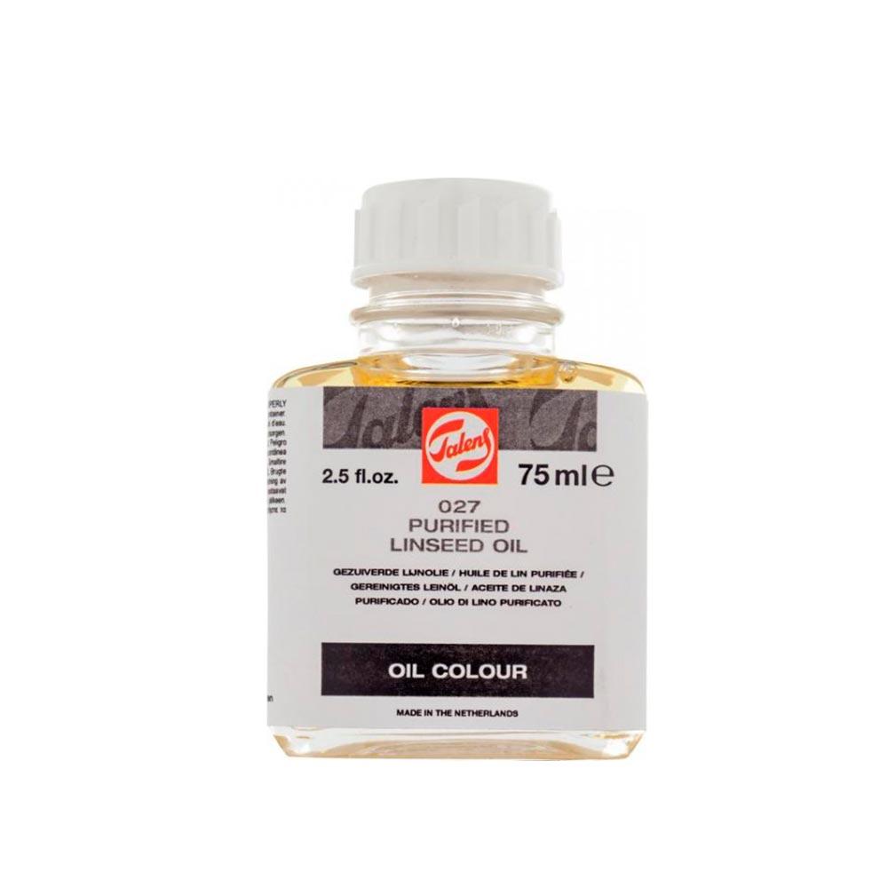 Talens - Aceite de Linaza 027 Purificado 75 ml