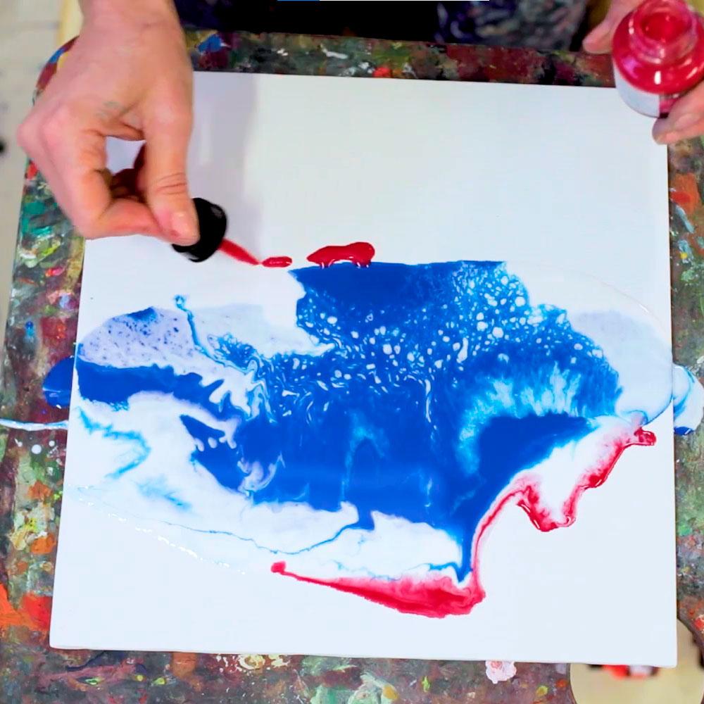 Daler Rowney FW - Set 6 Tintas Acrílicas Primary Colours 30 ml