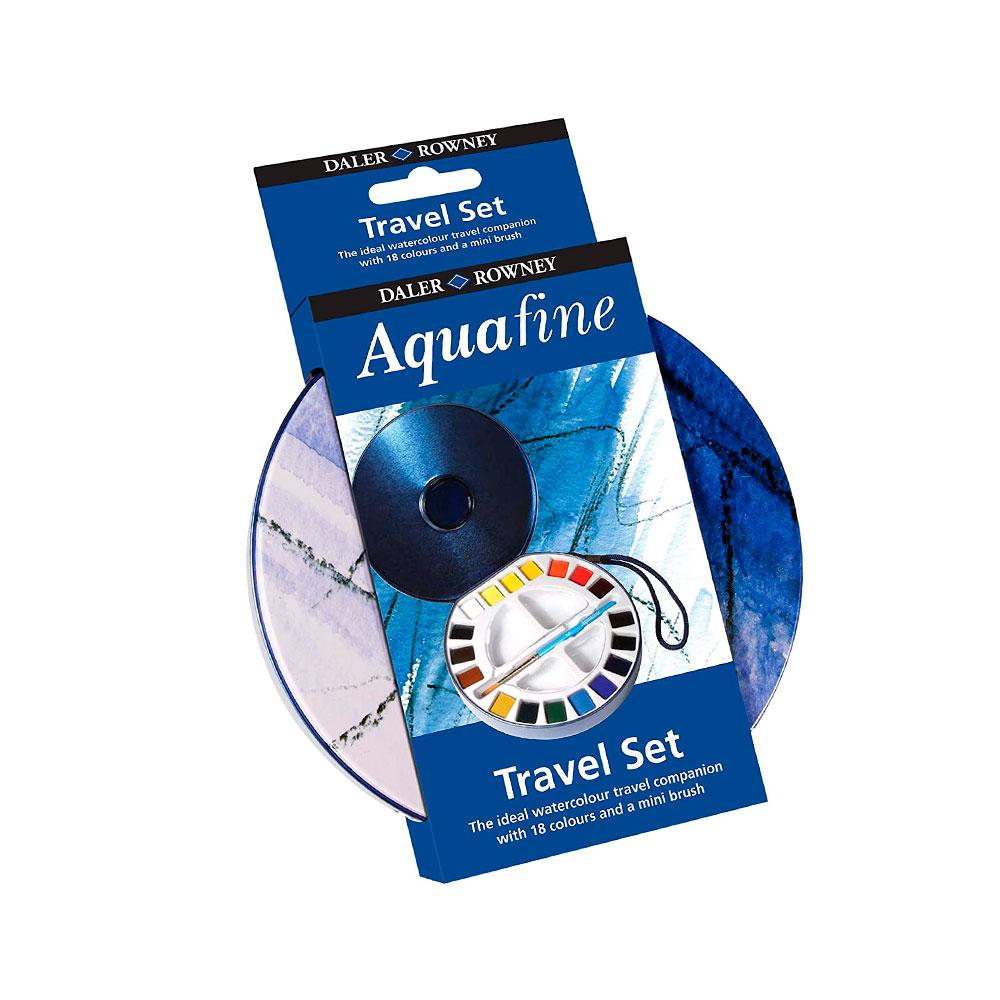 Daler Rowney Aquafine - Set 18 Acuarelas Travel