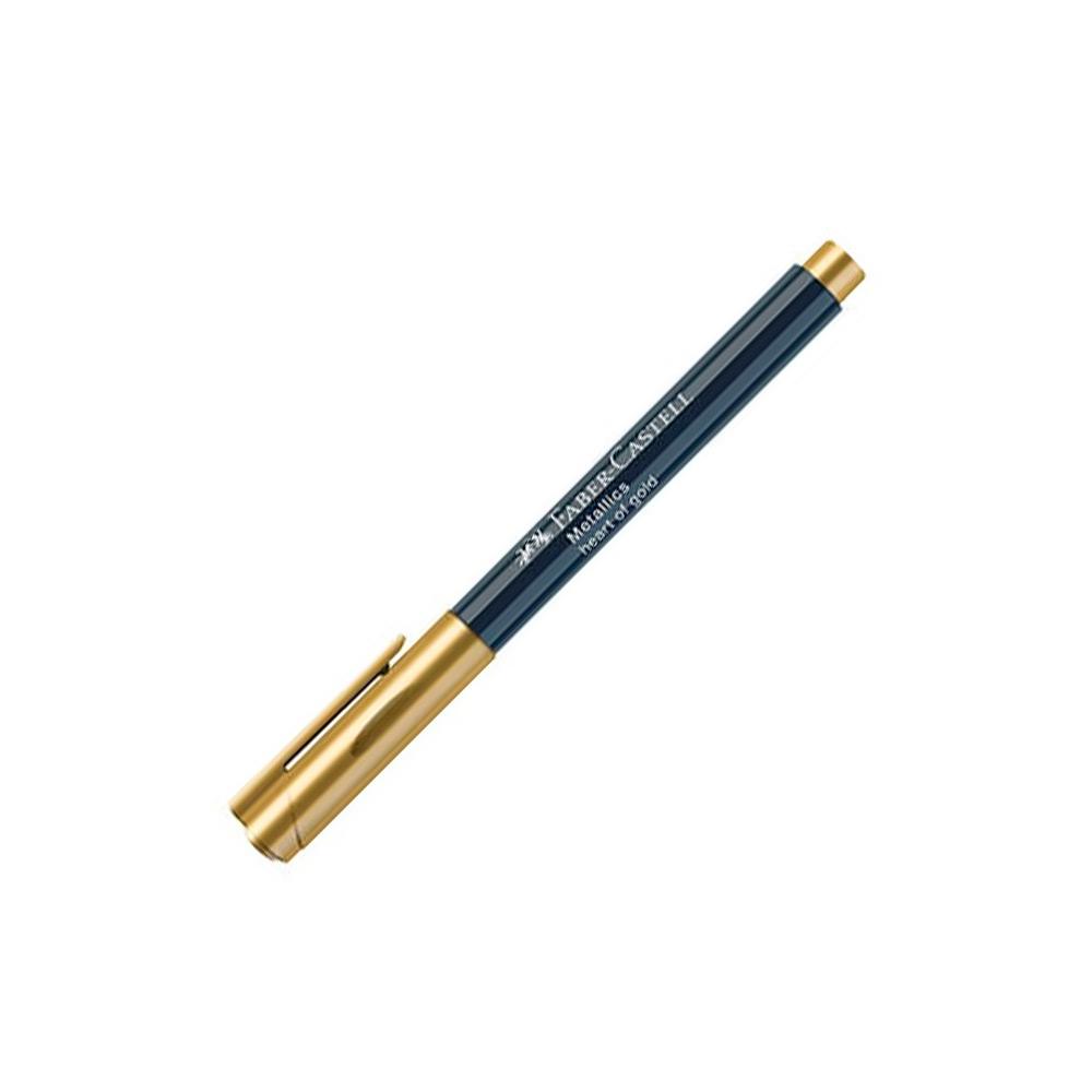 Faber-Castell Metallics - Marcador Oro