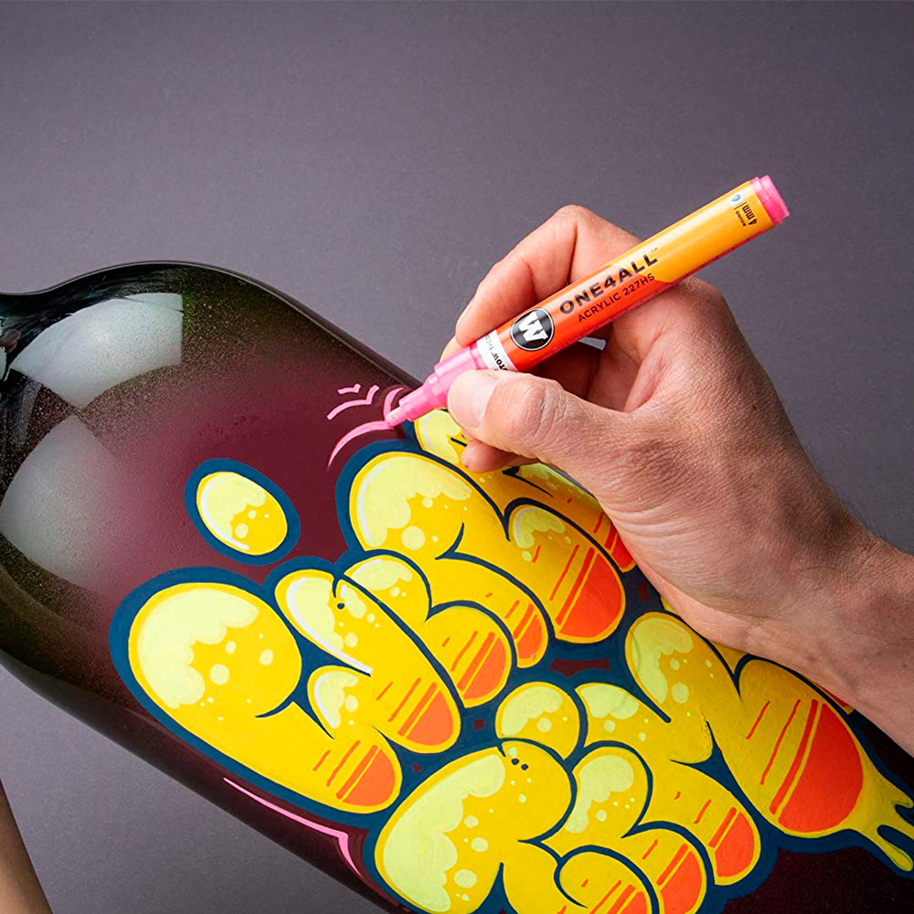 Molotow One4All - Set 6 Marcadores 127HS 2 mm Basic 1