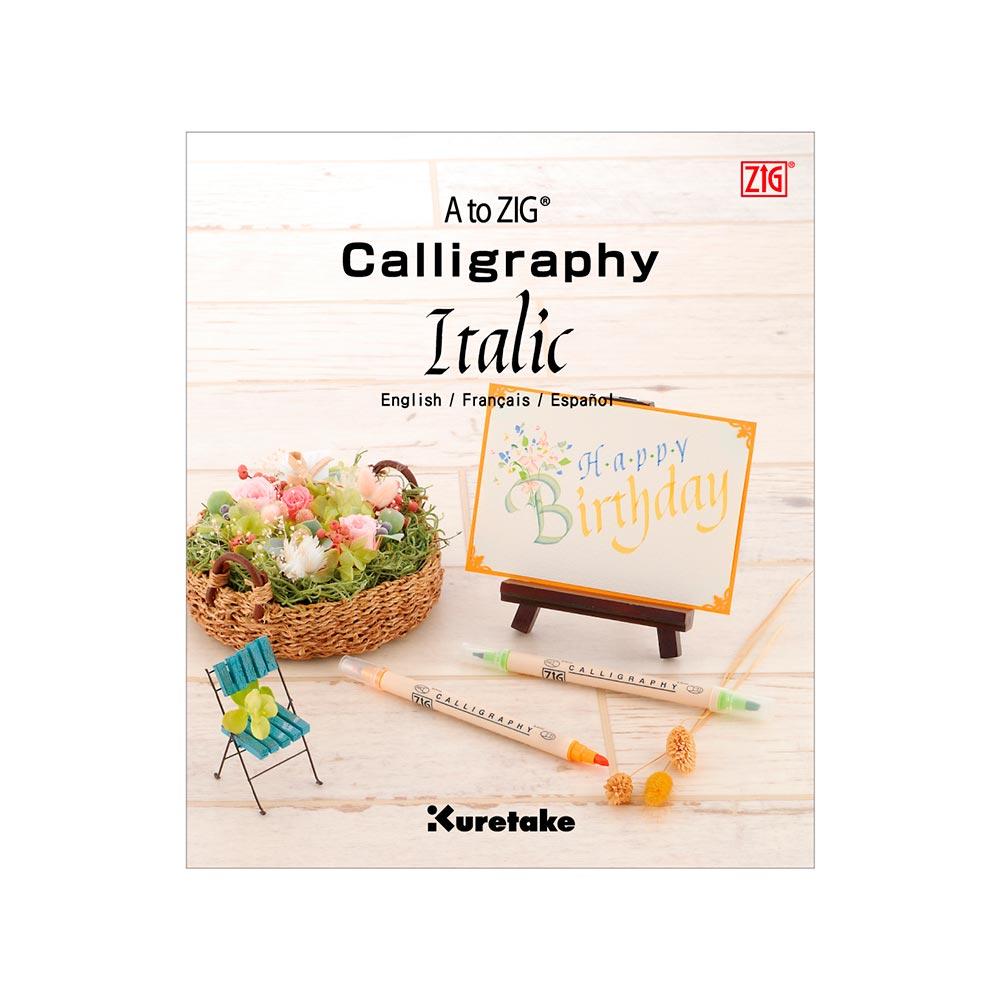 Kuretake - Revista A to Zig Calligraphy Italic