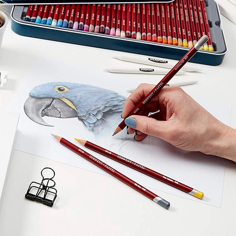 Derwent Pastel Pencils - Set 12 Lápices de Colores