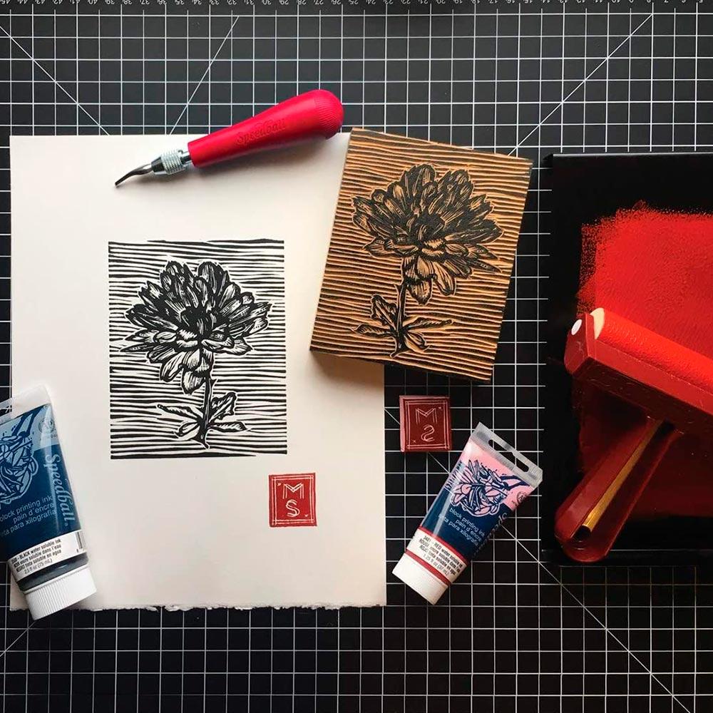 Speedball Speedy Carve - Kit Grabado Deluxe