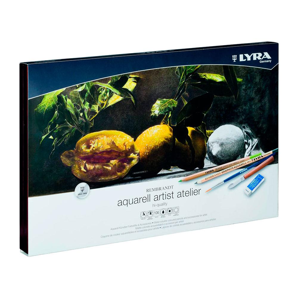 Lyra Rembrandt Aquarell - Set 105 Lápices de Colores
