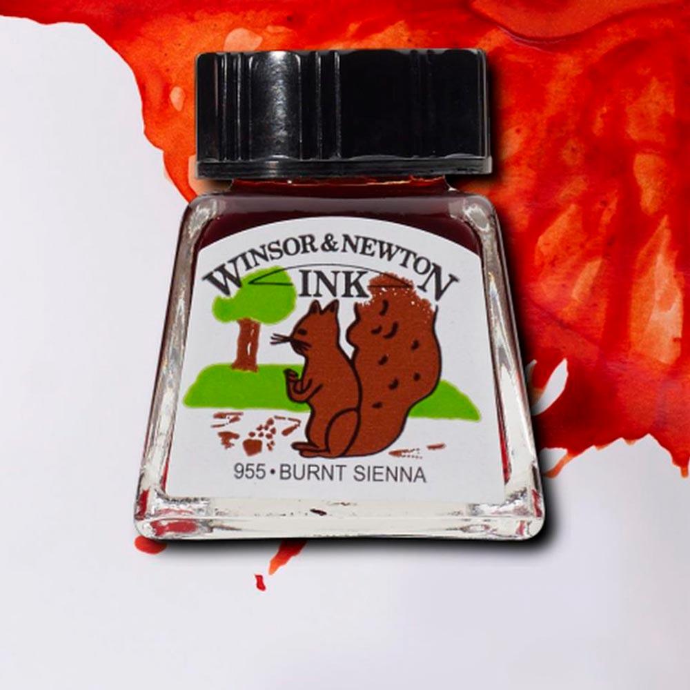 Winsor & Newton Ink - Tinta para Dibujo Frasco 14 ml