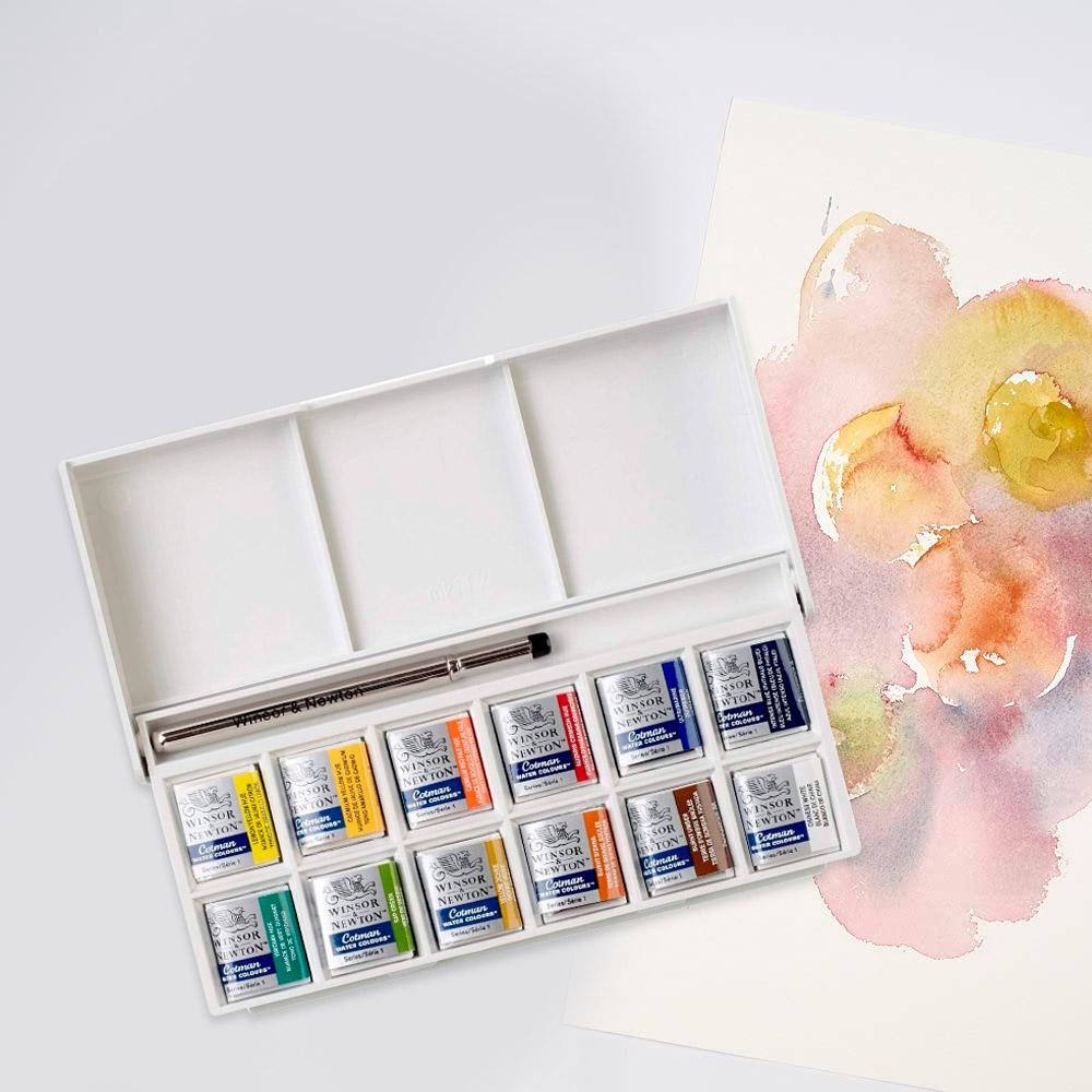 Winsor & Newton Cotman - Set 12 Acuarelas Sketcher's Pocket Box