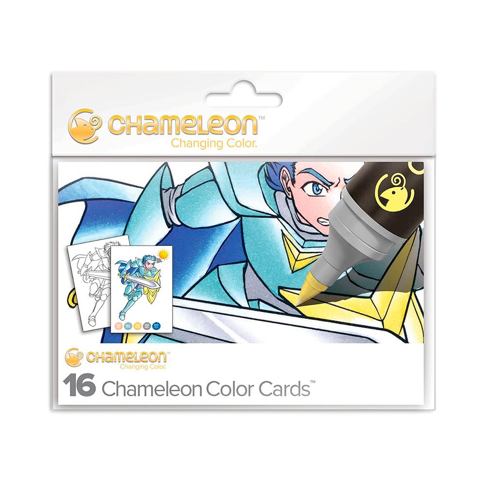 Chameleon Color Cards - Tarjetas para Colorear Manga
