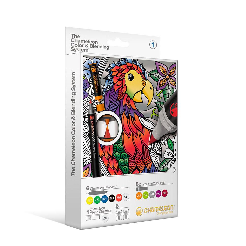 Chameleon - Kit Marcadores Color & Blending System 1