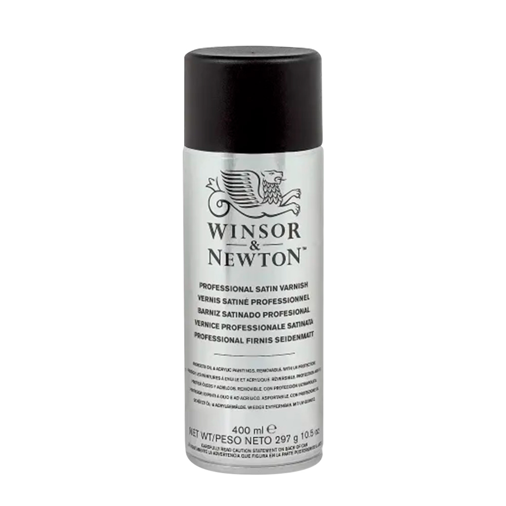Winsor & Newton Professional - Barniz Satinado Spray