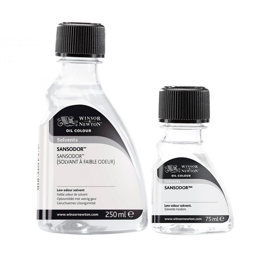 Winsor & Newton Solvents - Sansodor Botella