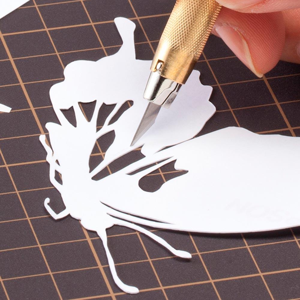 Olfa - Cuchillo de Arte  Rosado 216BSP