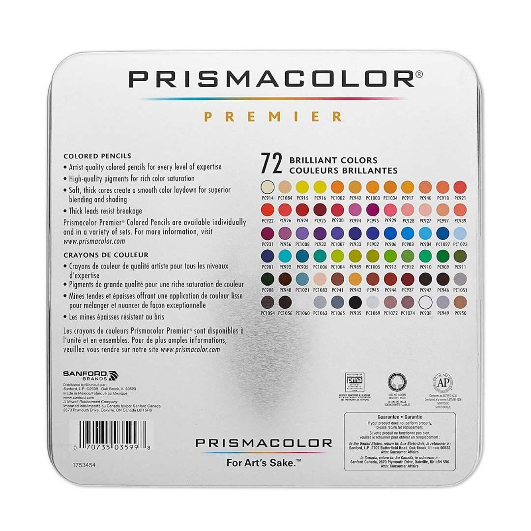 Prismacolor Premier - Set de 72 Lápices de Colores