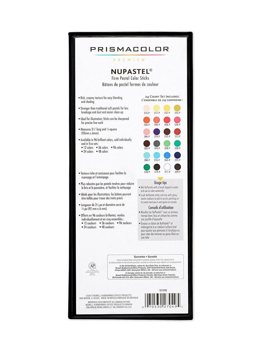 Prismacolor Premier - Set 24 Lápices Pastel; NuPastel