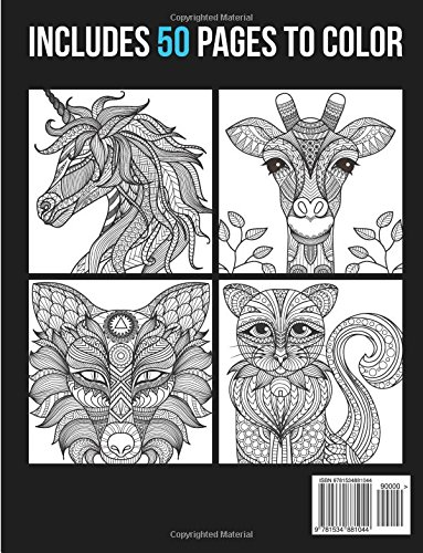 Libro de Mandalas: Mandala Animals Vol. 1