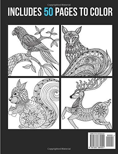 Libro de Mandalas: Mandala Animals Vol. 2