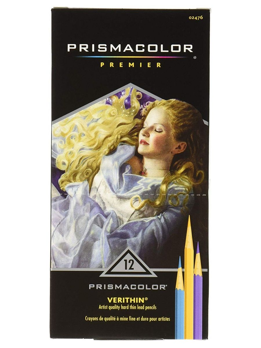 Prismacolor Premier - Set 12 Lápices de Colores Verithin