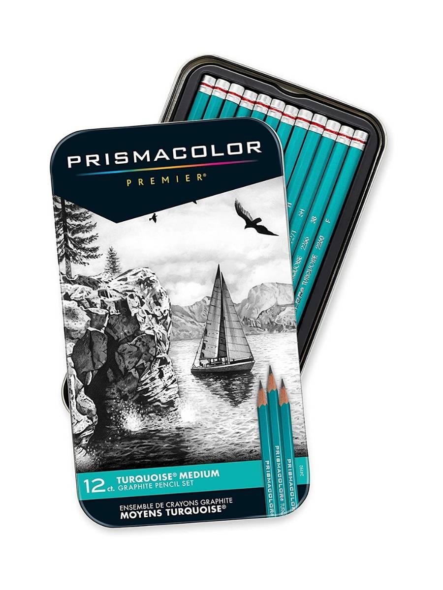 Prismacolor Premier - Set 12 Lápices Grafito; Medios
