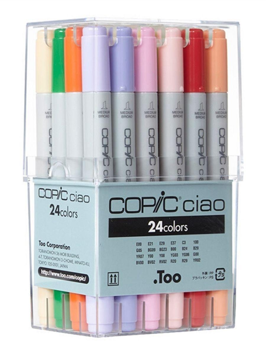 Copic Ciao - Set 24 Marcadores Colores