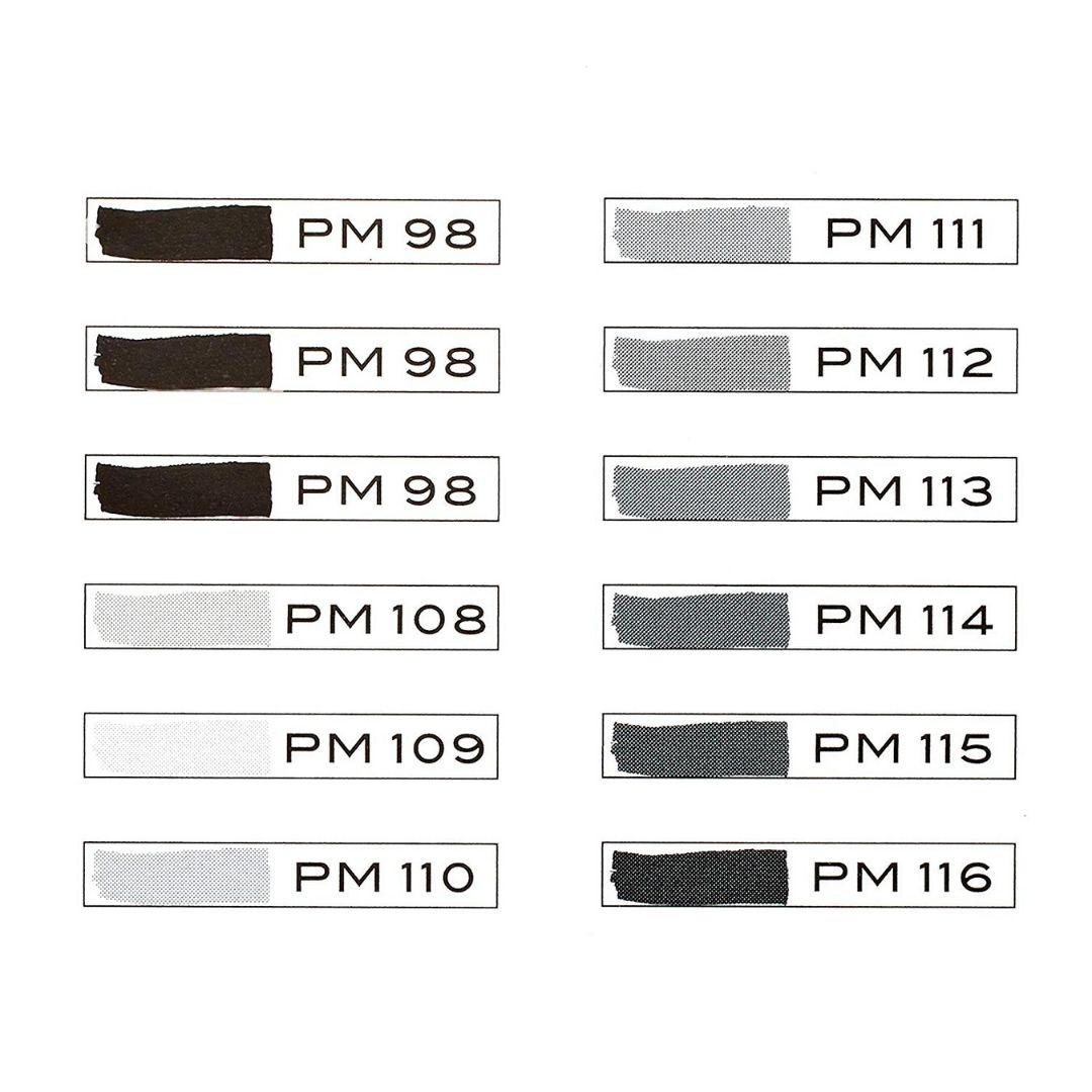 Prismacolor Premier - Set 12 Marcadores; Doble Punta, Grises Fríos