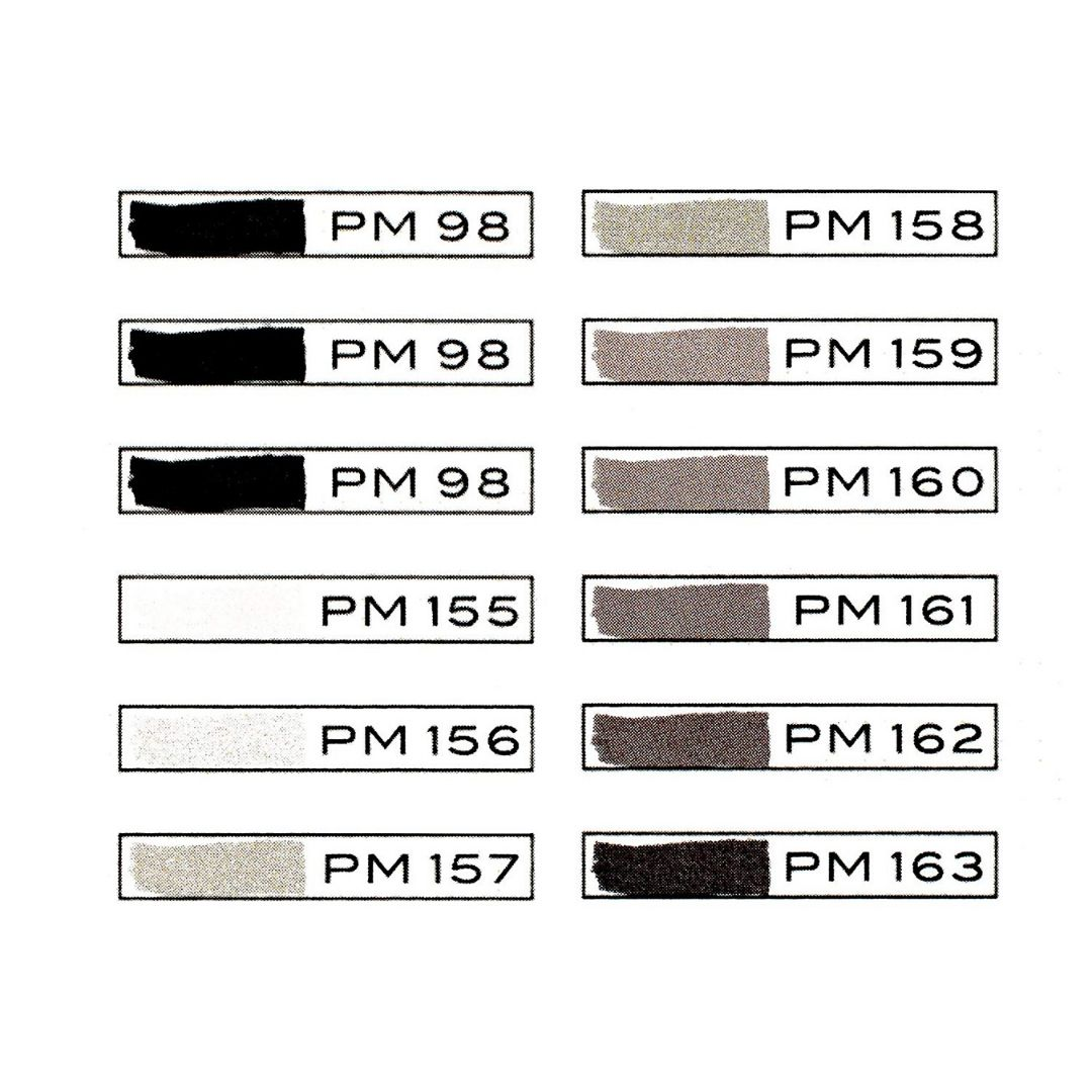 Prismacolor Premier - Set 12 Marcadores; Doble Punta, Gris Francés