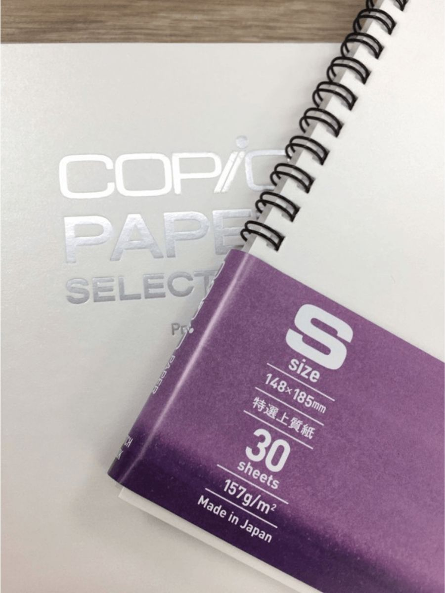 Copic Paper Selections - Cuaderno, Bond 14,8 x 18,5 cm, 30 Hojas, 157 gr/m2