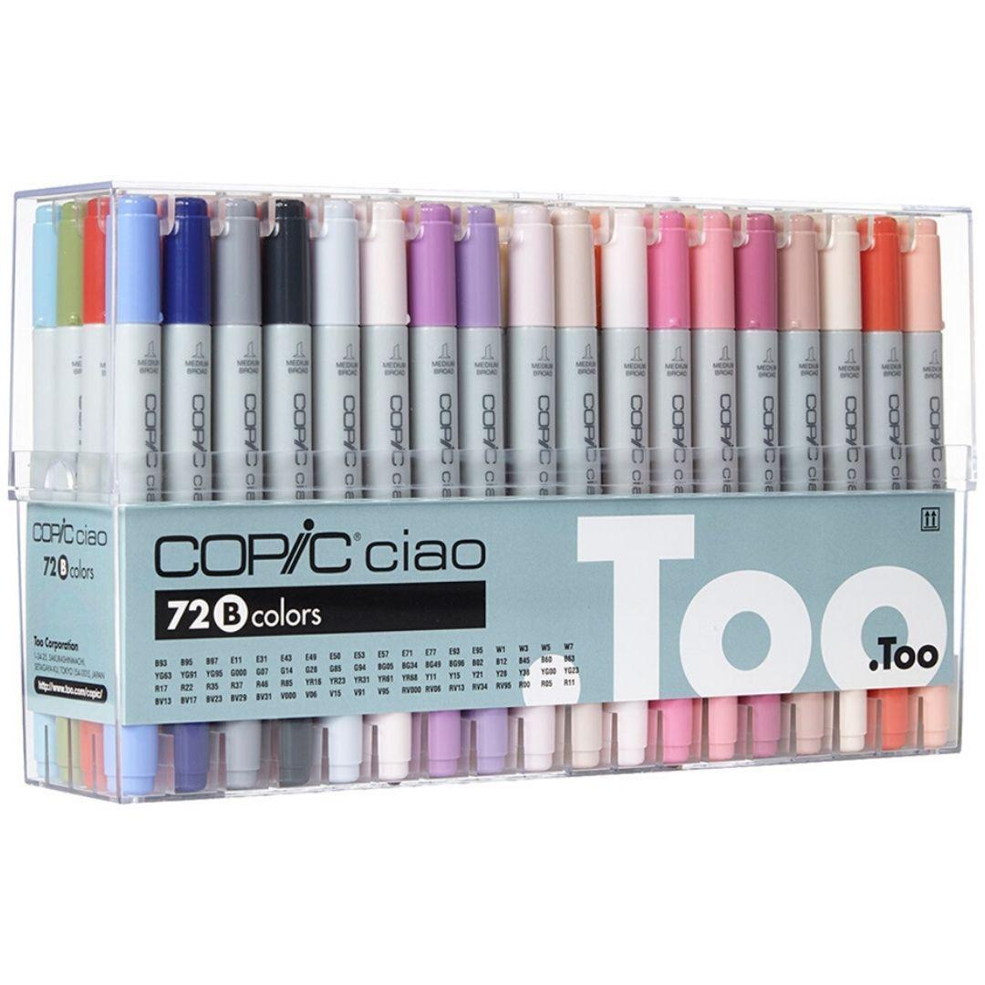Copic Ciao - Set 72 Marcadores Colores B