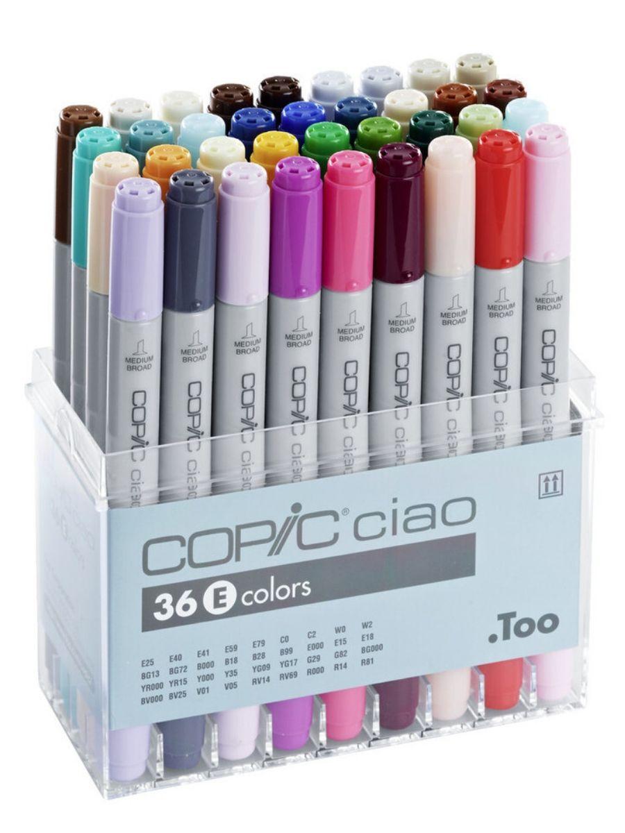 Copic Ciao - Set 36 Marcadores Colores E