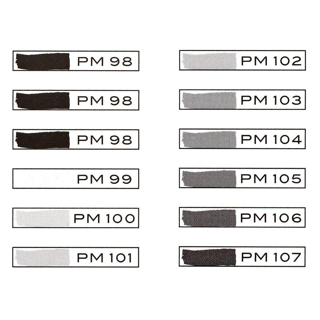 Prismacolor Premier - Set 12 Marcadores; Doble Punta, Gris Cálido