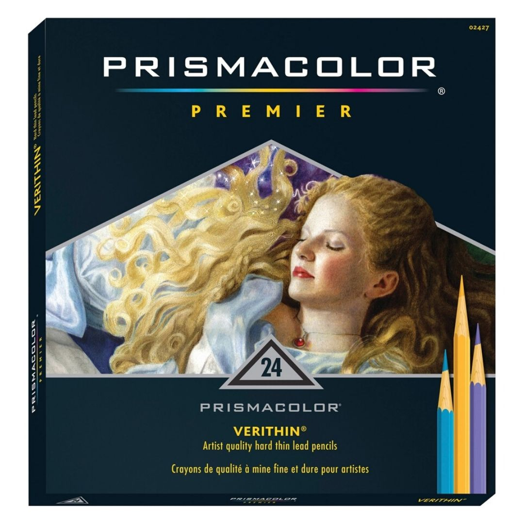 Prismacolor Premier - Set 24 Lápices de Colores Verithin