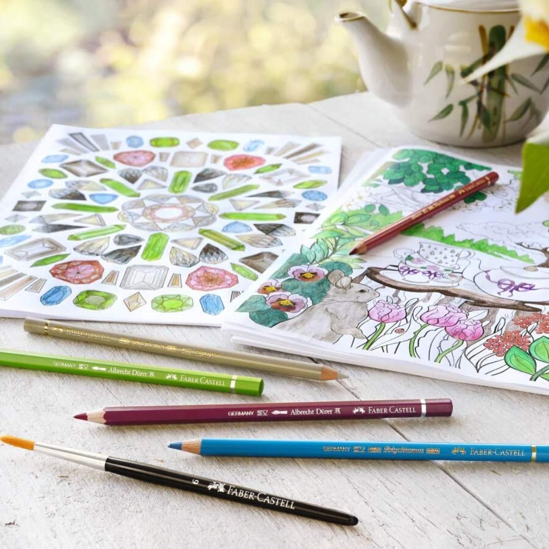 Faber Castell Polychromos - Set 12 Lápices de Colores