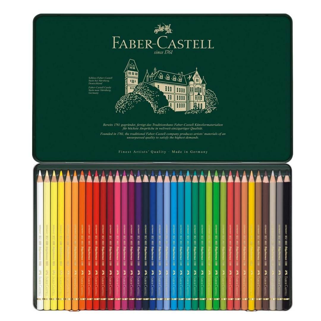 Faber Castell Polychromos - Set 36 Lápices