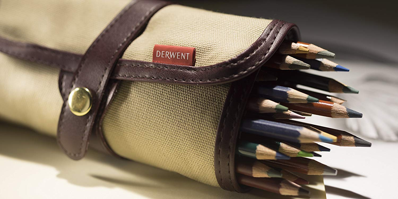 Derwent - Estuche Enrollable para 30 Lápices