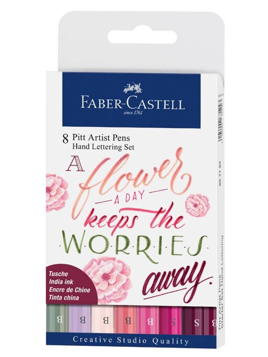 Faber-Castell Pitt Artist Pen - Kit Hand Lettering;