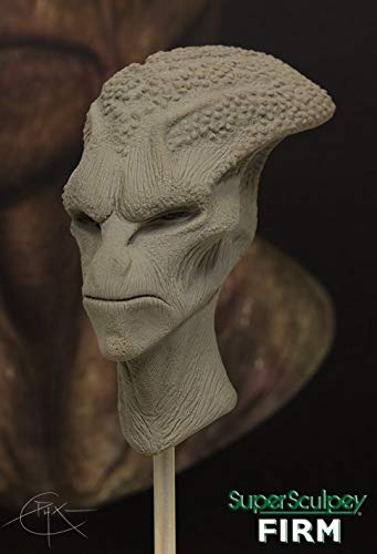 Super Sculpey - Arcilla Polimérica Firme Gris; 1 lb (454 g)