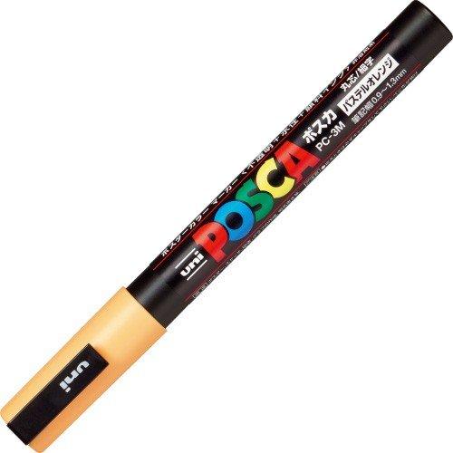 Uni Posca - Marcadores Unidad PC-3M Finos (Colores Pastel)