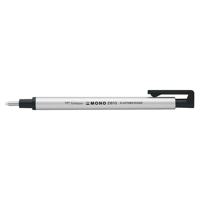 Tombow Mono Zero - Goma de Precisión Aluminio, 2,3 mm Diámetro