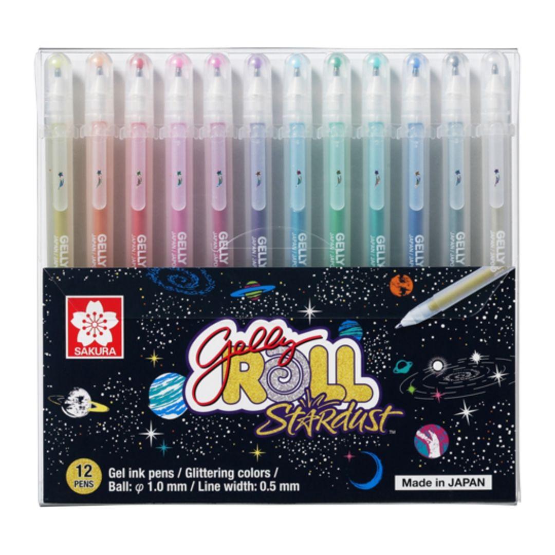 Sakura Gelly Roll - Set 12 Lápices Tinta Gel, Stardust