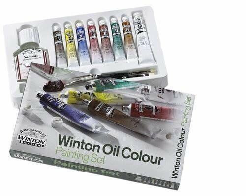 Winsor & Newton Winton - Kit Mini Óleos Básico