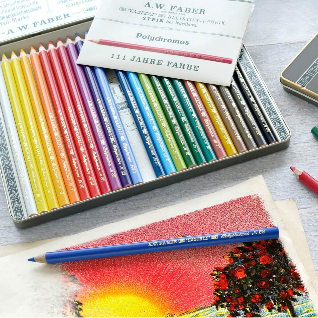 Faber-Castell Polychromos - Set 24 Lápices Edición Aniversario 111