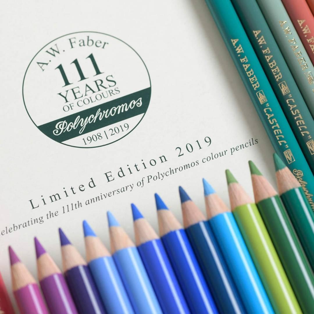 Faber-Castell Polychromos - Set 36 Lápices Edición Aniversario 111