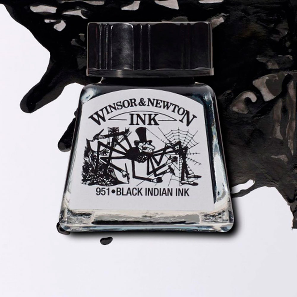 Winsor & Newton Ink - Tinta para Dibujo Frasco 30 ml