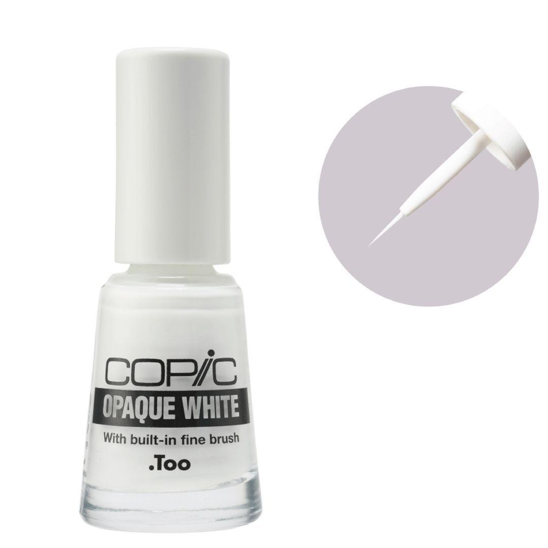 Copic Opaque White - Pintura Color Blanco, Frasco 10 cc