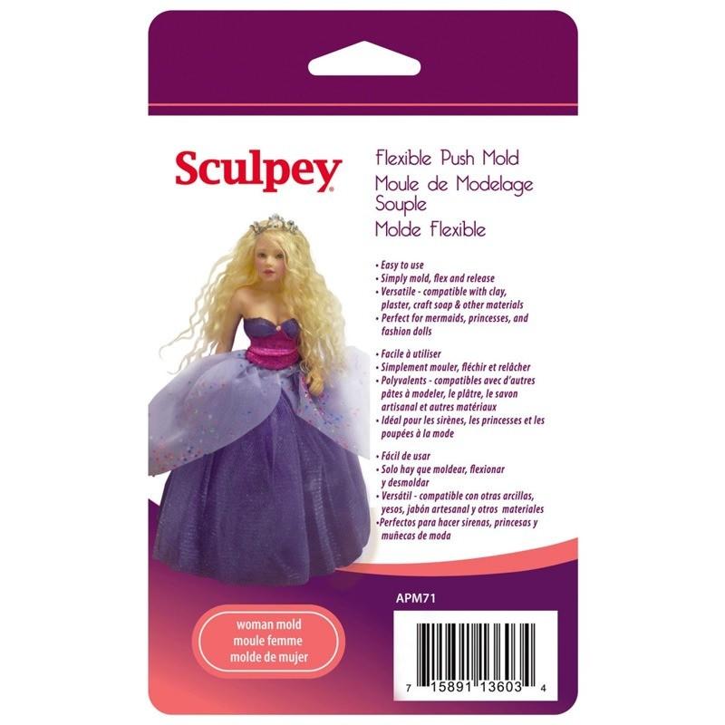 Sculpey - Moldes para Arcilla Flexible; Mujer