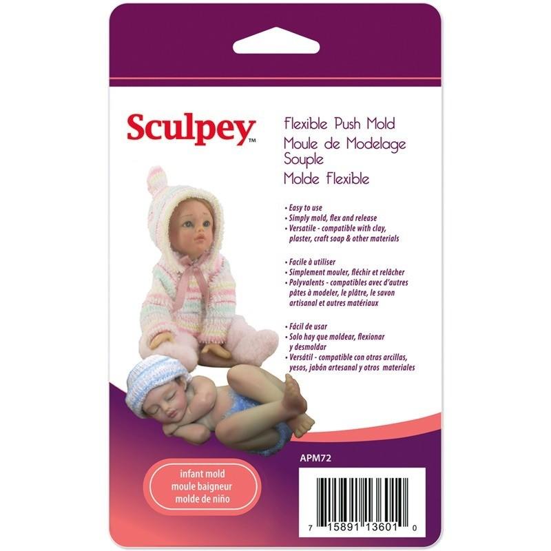 Sculpey - Moldes para Arcilla Flexible; Niño