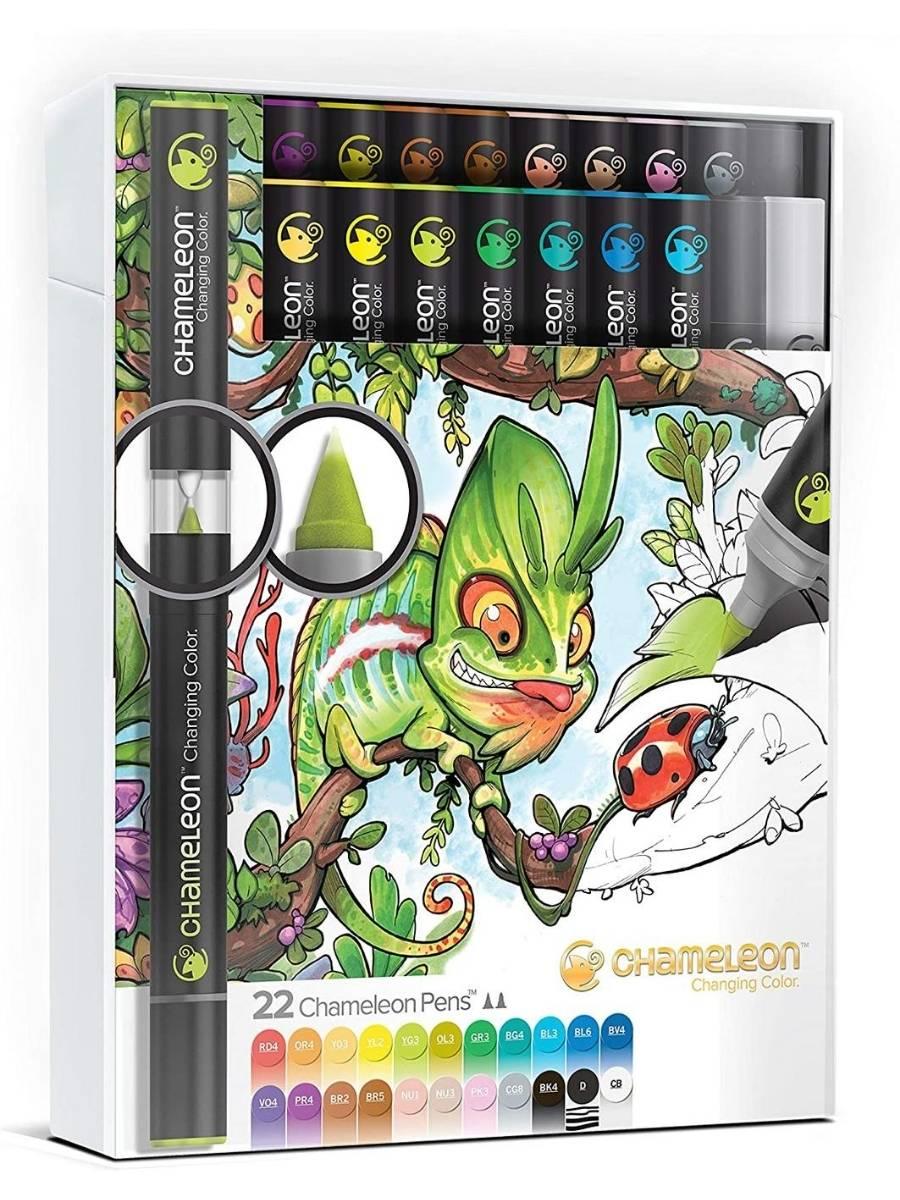 Chameleon Color Tones - Set Deluxe 22 Marcadores