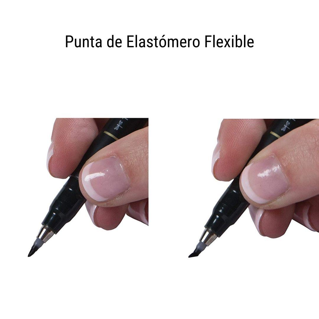 Tombow Fudenosuke - Lápiz de Caligrafía; Punta Blanda, Negro