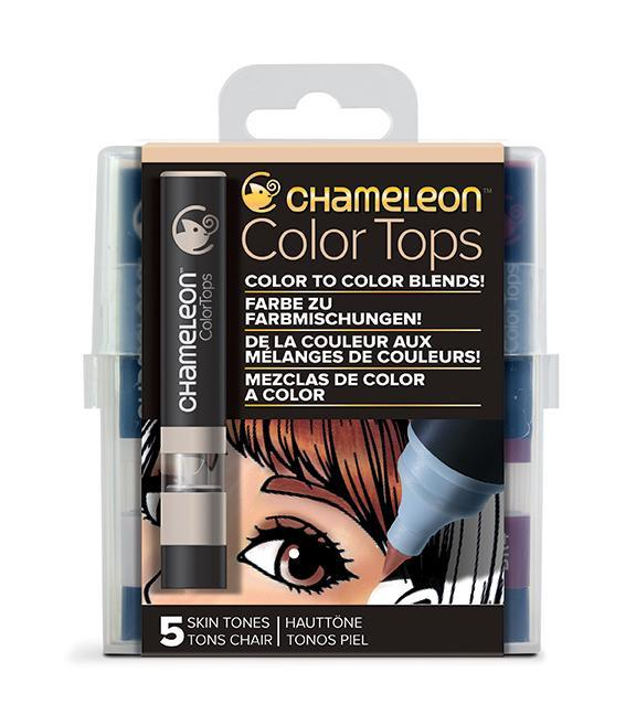 Chameleon Color Tops - Set 5 Marcadores Tonos Piel