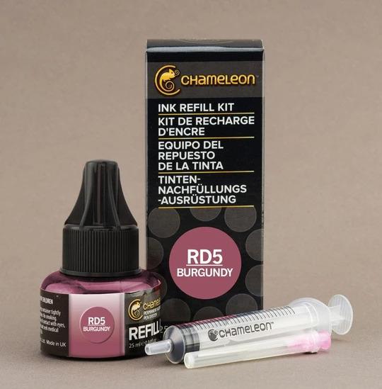 Chameleon Ink Refill - Recarga de Tinta (RD5); Burgundy